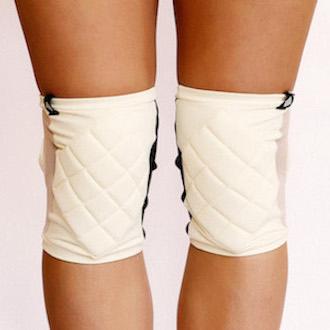 Poledancerka Knee Pads - Ivory